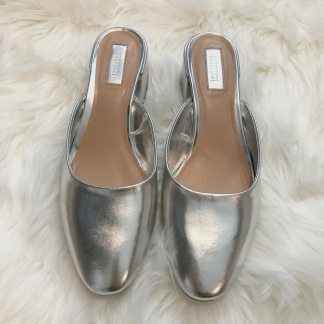 Silver Mules from Forever 21
