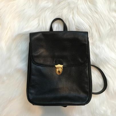 Little Black Backpack from Bloomingdales