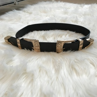 Double Buckle Belt from eBay