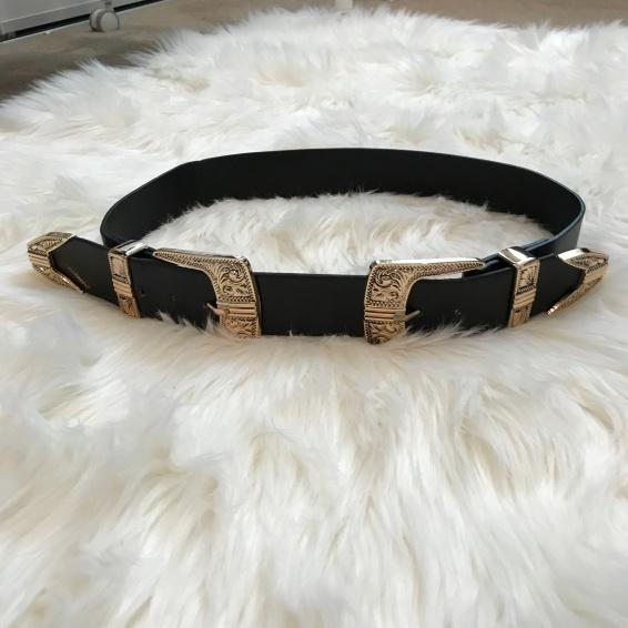 Double Buckle Belt from eBay