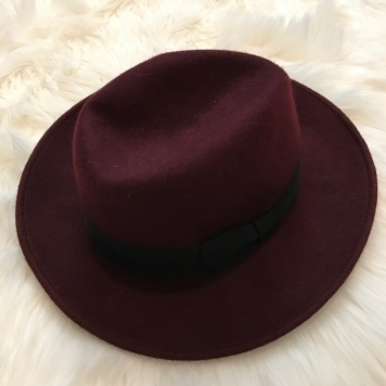 Burgundy Hat from Target