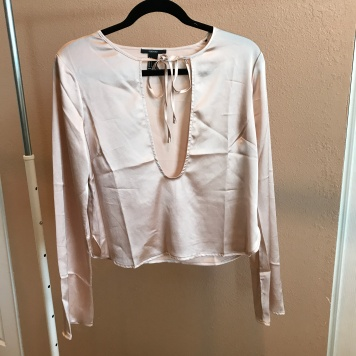 Champagne Silk Top from Forever 21