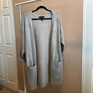Long Fuzzy Cardigan from Forever 21