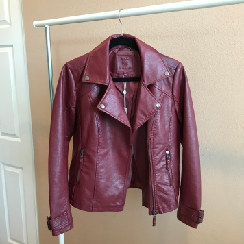 Leather Jacket from Max Studio