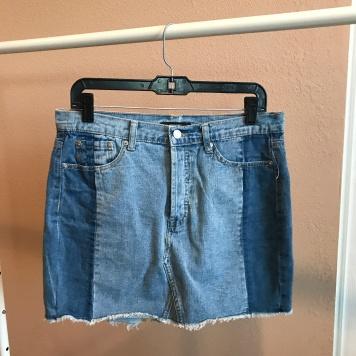 Denim Skirt from Forever 21
